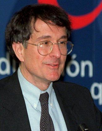 Fotografía de archivo, del 26 de enero de 1999, del psicólogo estadounidense y profesor de la Universidad de Harvard Howard Gardner.