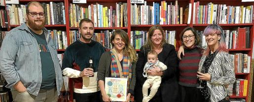 Miquel Ferrer, Jaume Pardo, Aina Bestard, Victoria Aguiló, Martí Salas, Llucia Font e Ironna von Dask.