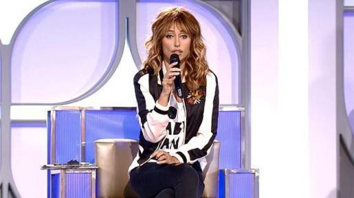 Emma García, presentadora de 'Mujeres, hombres y viceversa'.