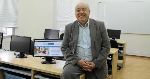 Carlos Bárcena es un aliado de las nuevas tecnologías adaptadas a la formación.