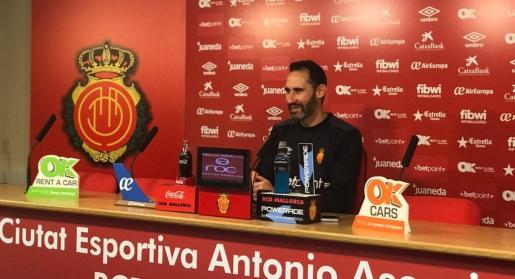 Vicente Moreno: «Espero una segunda vuelta más difícil que la primera»
