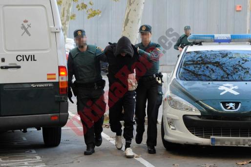 Bogdan Kunytskyy ha pasado la mañana de este sábado a disposición judicial.