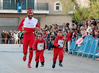 La carrera de Sa Llego marca el inicio de los actos 'santantoniers' en Sa Pobla