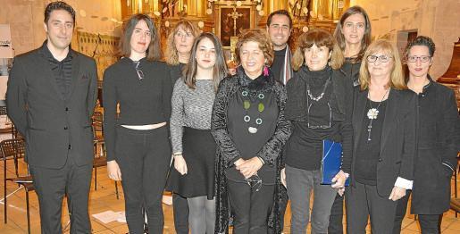 Pep Corbalán, Elena Navarrete, Clara Ruiz, Antònia Llabrés, Maria Guerrero, Álvaro Chaves, Antònia Moro, Ella Noster, Ana Mauri y Lidia Bernal.