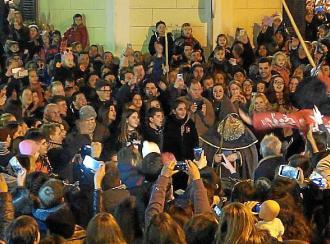 La Carrossa anuncia el inicio de la fiesta de Sant Antoni en Son Servera