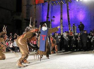 Una víspera con acento musical en el Sant Antoni 2018 de Muro