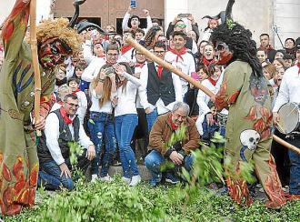 Los 'dimonis' de Sant Antoni 2018 van de fiesta en Capdepera