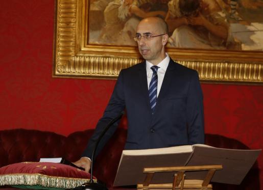 Toma de posesión del nuevo director de la Oficina Anticorrupción, Jaume Far.