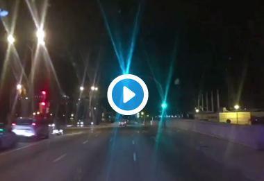 Vídeo grabado por la Policía Local de Palma.