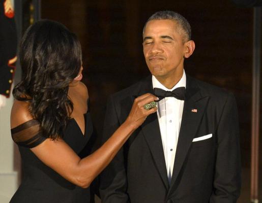 Barack y Michelle Obama, en una imagen de archivo.