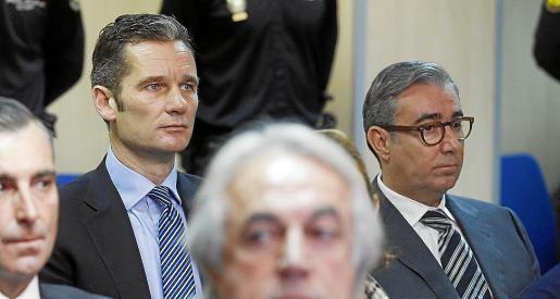 Urdangarin y Torres intentan librarse del ingreso en prisión ante el Supremo.
