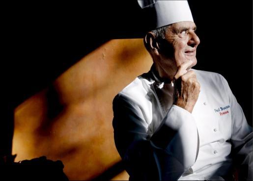 Una imagen de archivo del cocinero francés Paul Bocuse durante una visita a Amsterdam en 2008. El chef ha fallecido a los 91 años.