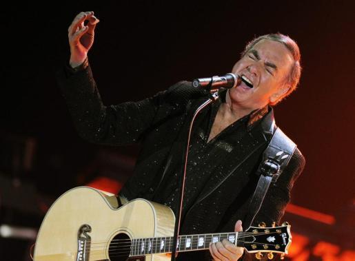 El músico estadounidense Neil Diamond.