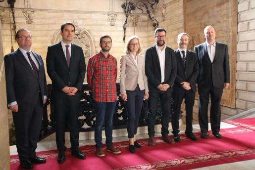 Representantes del ayuntamiento y del Banco Europeo de Inversiones han suscrito el acuerdo.