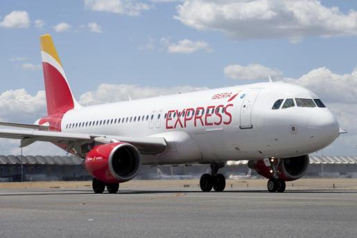 Imagen de archivo de un avión de Iberia Express.