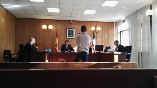 Imagen de un momento del juicio celebrado en Vía Alemania.