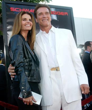 Arnold Schwarzenegger y Maria Shriver, en una imagen cuando todavía estaban juntos.