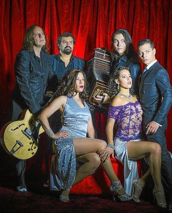 La Porteña Tango Trío, en una imagen promocional.