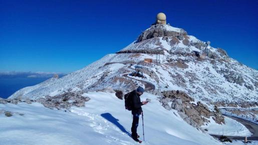 Las cimas más altas de la Serra podrán volver a ver nieve en el transcurso de la jornada.