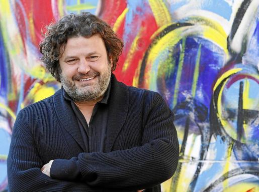 El artista Domingo Zapata posó este miércoles en Palma para esta entrevista.