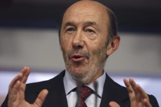 La última visita de Alfredo Pérez Rubalcaba a Baleares fue en febrero de 2012, con motivo del congreso regional del PSIB.
