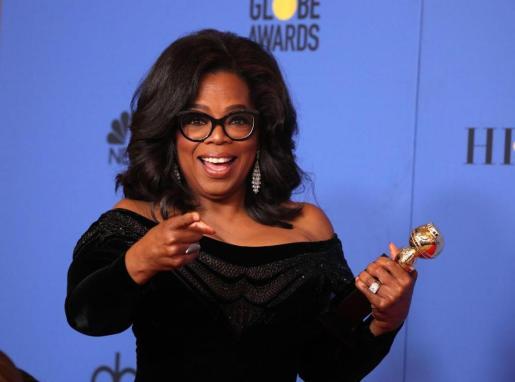 Oprah Winfrey, en un reciente acto social en Los Angeles.