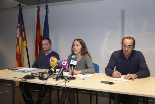 La directora general de Salut Pública, Maria Ramos, ha comparecido ante los medios para dar los últimos datos sobre el brote de hepatitis A.
