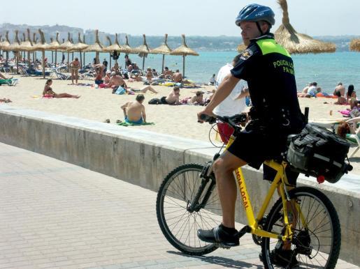 Imagen de archivo de la Policía Turística.