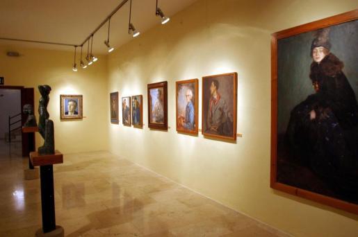 Imagen de una de las salas del Museo de Mallorca.