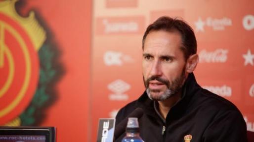 Vicente Moreno: «Hay que felicitar al equipo»