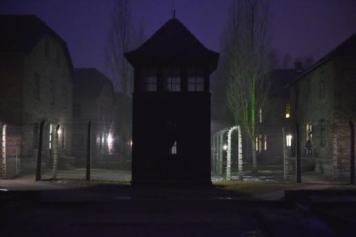 Imagen del campo de concentración de Auschwitz-Birkenau.