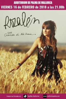 'Cuando el río suena', lo nuevo de Rozalén, llega al Auditórium de Palma.