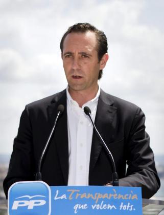 El candidato del Partido Popular a la presidencia del Govern, José Ramón Bauzá.