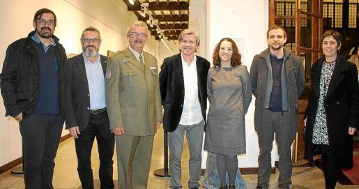 Sebastià Mascaró, Rafel Creus, Teodoro Pou, Tomeu Estelrich, Yolanda Trigo, Llorenç Carrió y Francisca Niell.