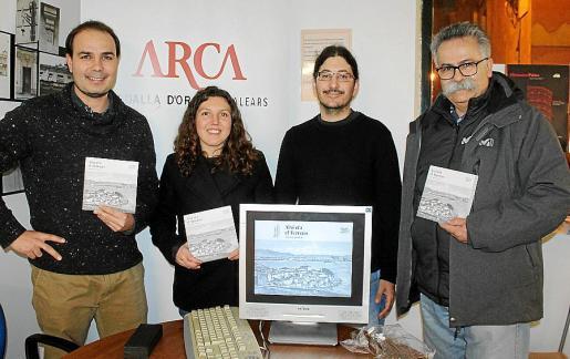 Xavier Terrassa, Catalina Martorell, Pere Josep García y Benet Bohígas.