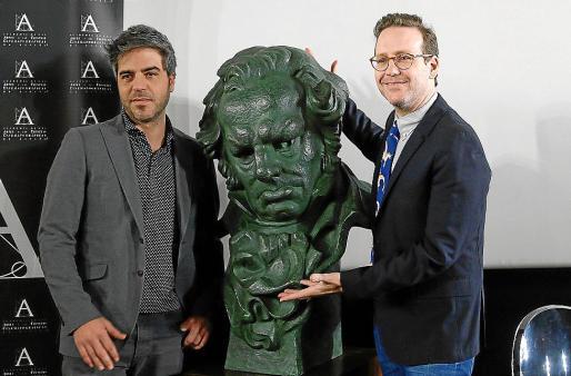 Ernesto Sevilla y Joaquín Reyes, los presentadores de los Goya 2018. Foto: EFE