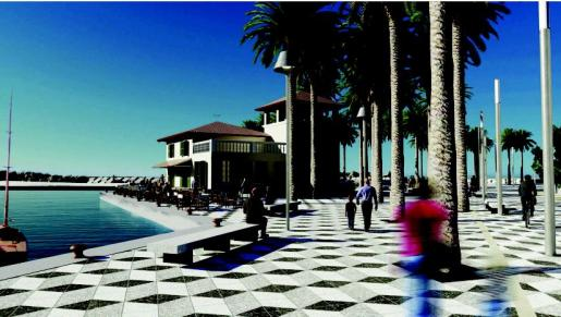El puerto estará abierto a la ciudad y contará con un club de vela y más servicios lúdicos.
