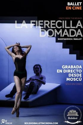 Cines Ocimax proyecta 'La fierecilla domada' grabada en directo en el Teatro Bolshoi de Moscú.