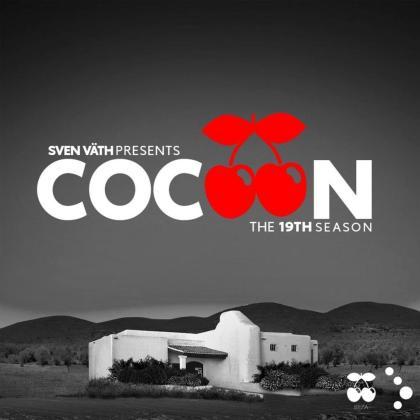 Cartel que anuncia la nueva residencia de Cocoon en Pacha Ibiza.