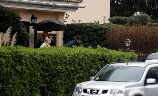 vetla Batukova fue excarcelada este viernes para participar en la reconstrucción del crimen.