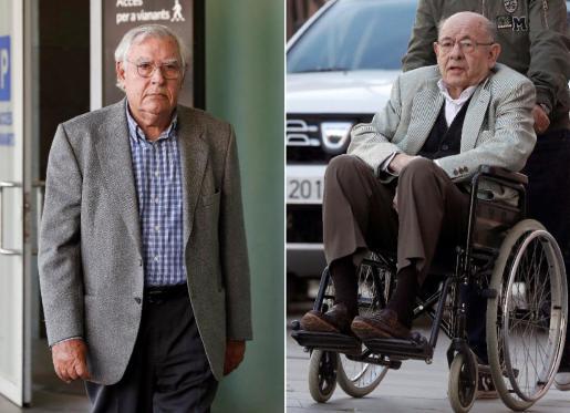 Las defensas de Millet (derecha) y Montull rechazaban la petición de la fiscalía alegando su colaboración con la justicia, su estado de salud y la edad avanzada.