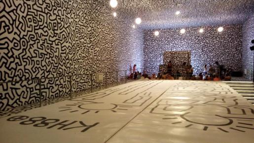 La Nave Ses Salines, Keith Haring, 2017.