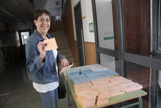 La número uno del PSOE al Parlament balear por Menorca, Joana Barceló.