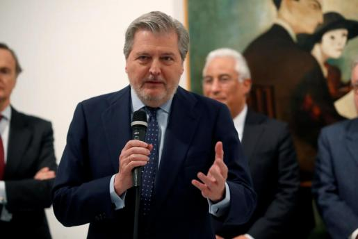 El ministro de Educación, Cultura y Deporte, Íñigo Méndez de Vigo.