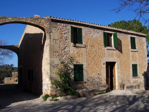 S'Alzina, un refugio situado en el Parque Natural de la Península de Llevant.