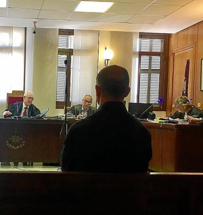 El psicólogo de la Guardia Civil, en el juicio.