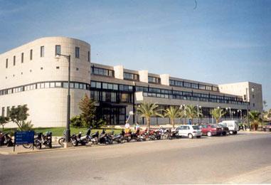 Uno de los edificios que componen la UIB.