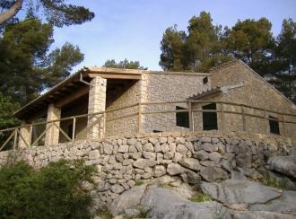 Instalaciones adaptadas en el refugio de la Comuna de Caimari