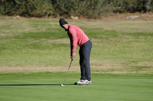 Rafa Nadal participa en el Campeonato Amateur de Baleares de Golf en Santa Ponsa.
