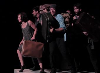 La obra 'Frontera', en el Teatre de Lloseta